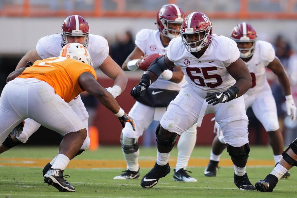 Deonte Brown Alabama NFL Draft 2021