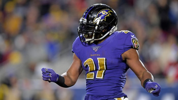 Mark Ingram released by Baltimore Ravens after least productive National Football League  season