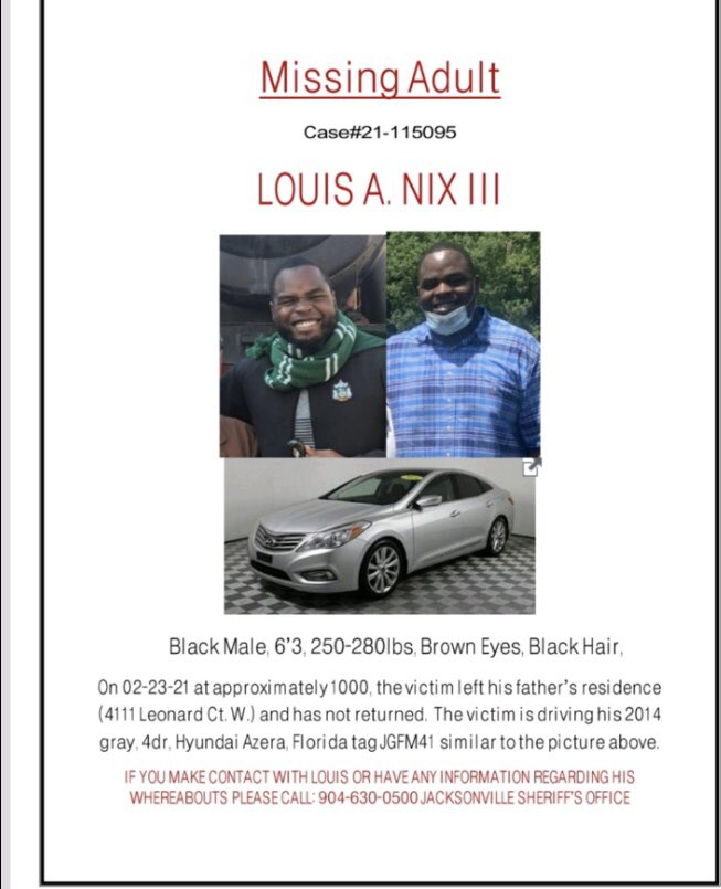 Louis Nix III Missing NFL Star
