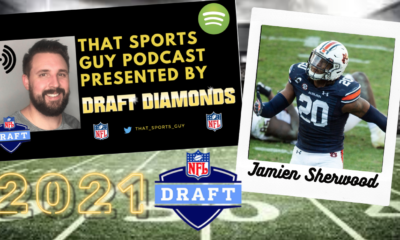Jamien Sherwood Auburn NFL Draft