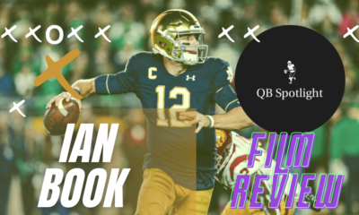 Ian Book Notre Dame Quarterback Breakdown