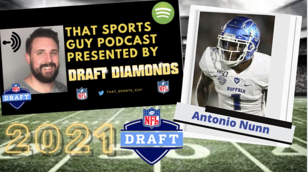 Antonio Nunn Buffalo Draft Diamonds 2021