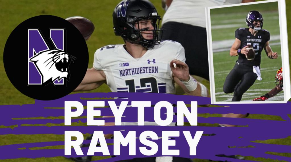 Peyton Ramsey QB Northwestern 2021 NFL Draft