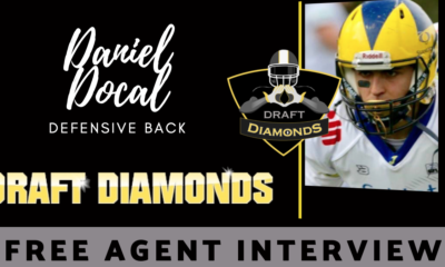 Daniel Docal Free Agent GFL NFL Draft