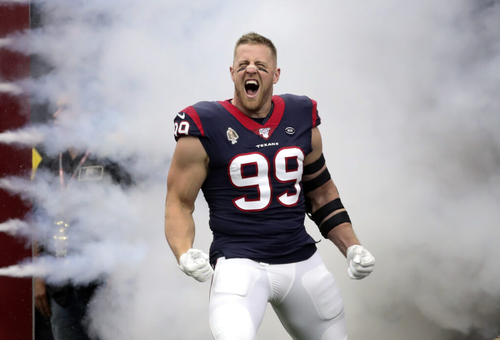 JJ Watt to Bills nfl draft