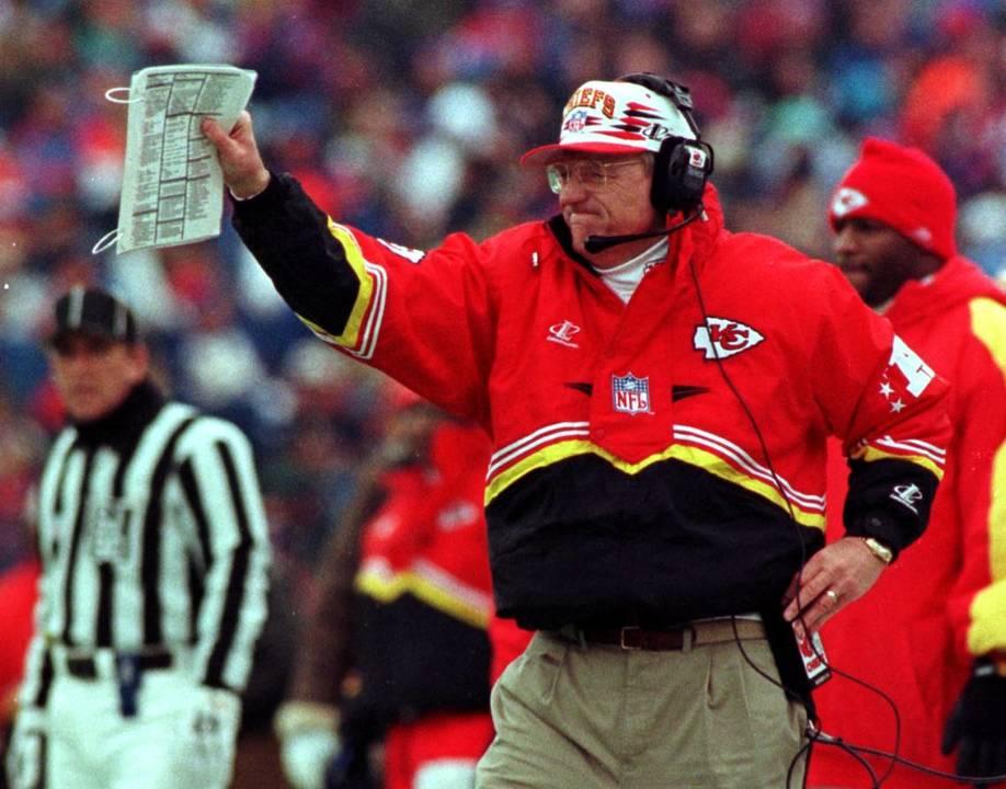 Marty Schottenheimer Chiefs head coach