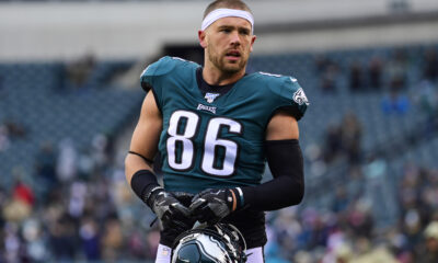 Zach Ertz Panthers Trade Carolina