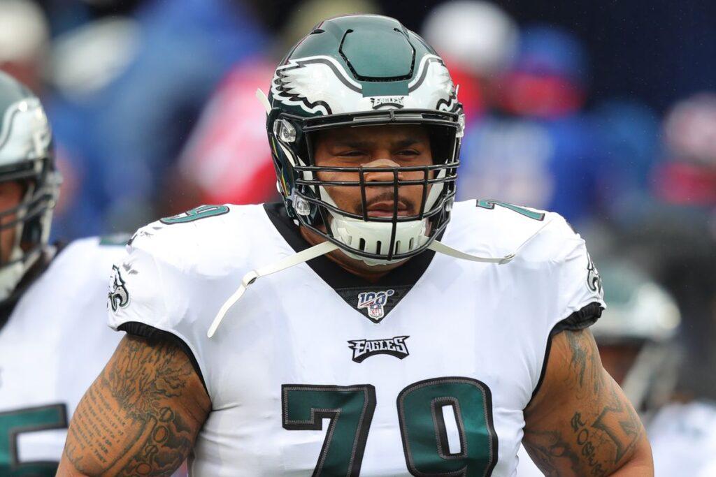 Brandon Brooks trade Falcons trade proposal Deion Jones