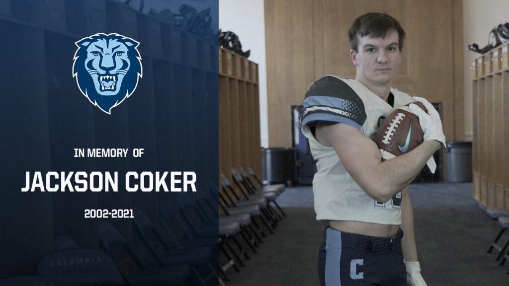 Jackson Coker Columbia University killed in car accident
