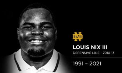 Louis Nix III Notre Dame Rest In Peace