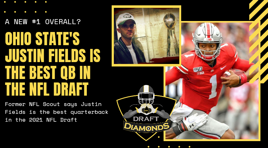 Justin Fields Ohio State scouting report best qb in 2021 nfl draft