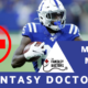 Marlon Mack Injury Review Fantasy Doctors
