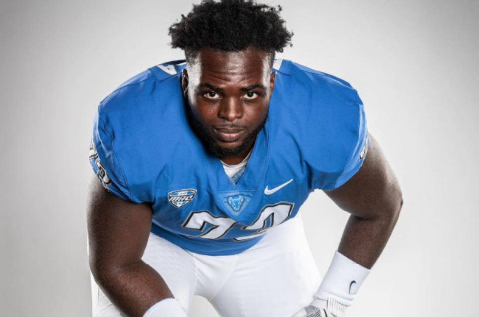 Kayode Awosika NFL Draft Buffalo Combine