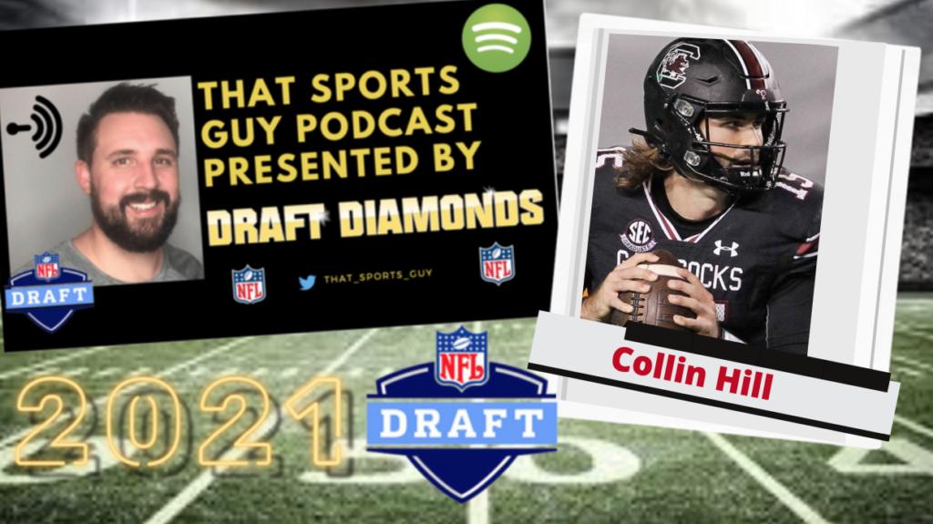Collin Hill South Carolina Quarterback 2021 NFL Draft