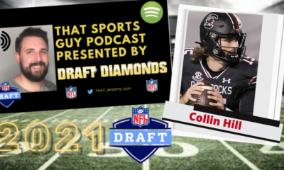 Collin Hill South Carolina Quarterback 2021 NFL Draft