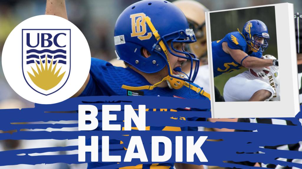 Ben Hladik British Columbia NFL Draft CFL