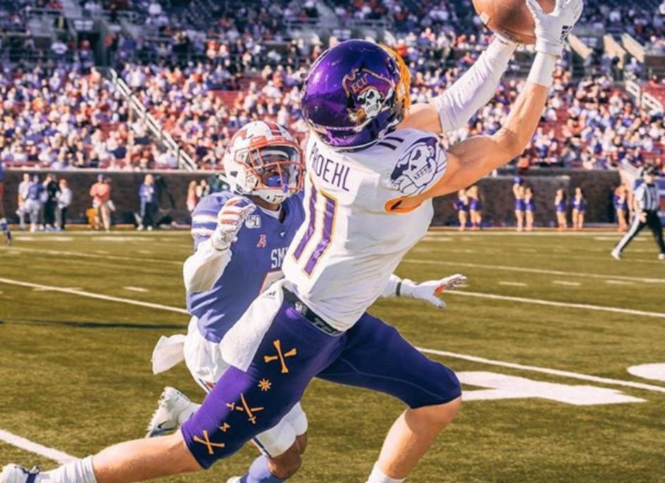Blake Proehl NFL Draft East Carolina Interview