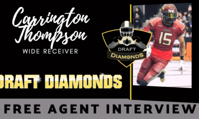 Carrington Thompson Free Agent Interview NFL Draft