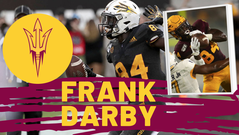 Frank Darby Arizona State NFL Draft 2021 Zoom Interview