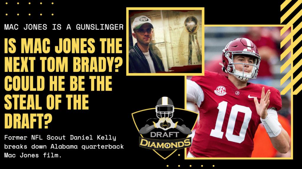Mac Jones Alabama NFL Draft Bama Scouting Report