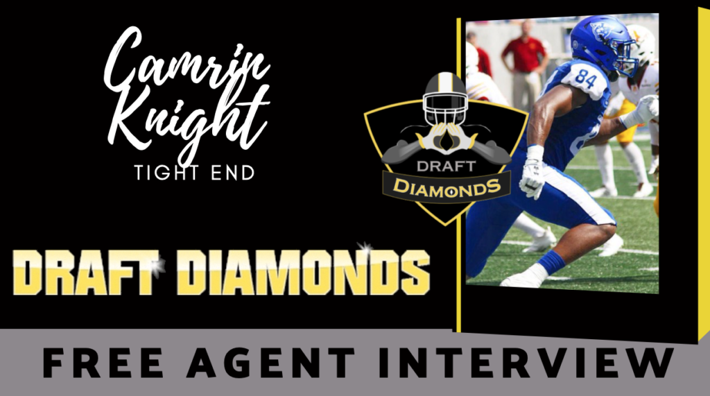 Camrin Knight Tight End Free Agent