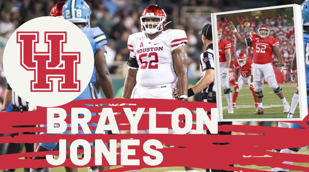 Braylon Jones Houston Football