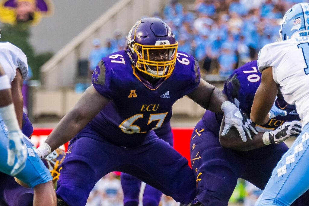 D'Ante Smith East Carolina NFL Draft Interview