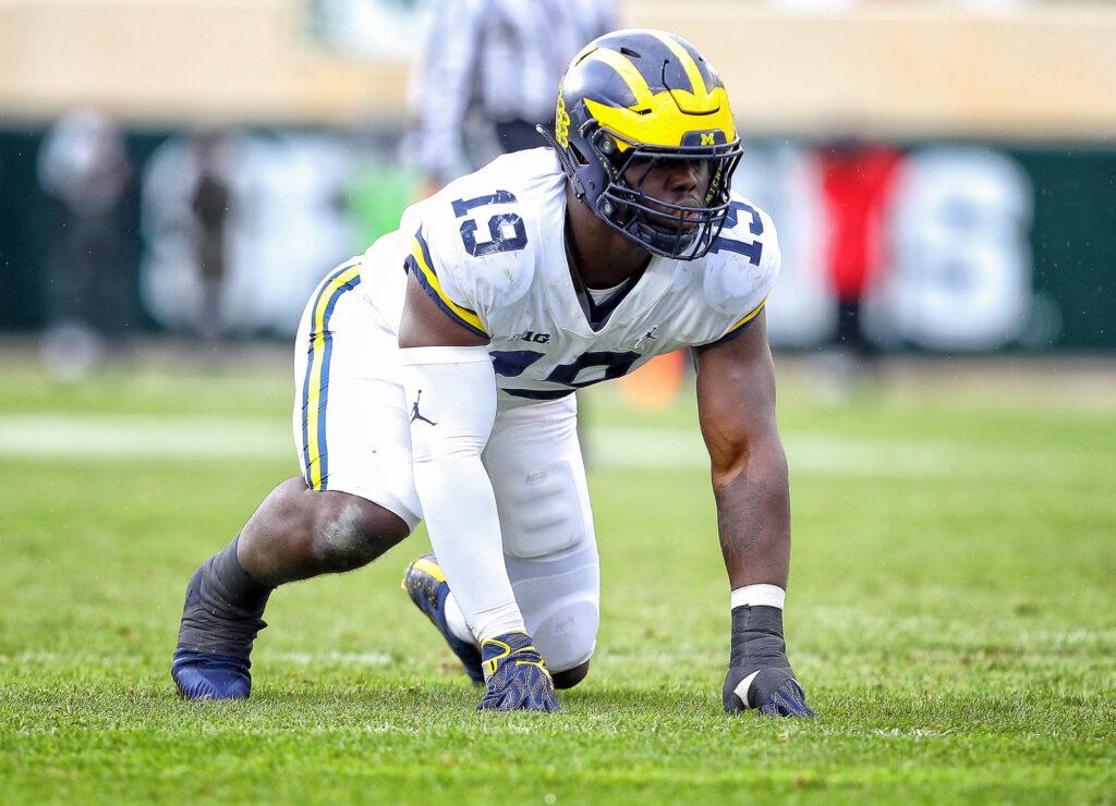 Kwity Paye Michigan NFL Draft Prospect
