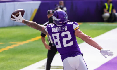 Kyle Rudolph landing spots destinations free agency
