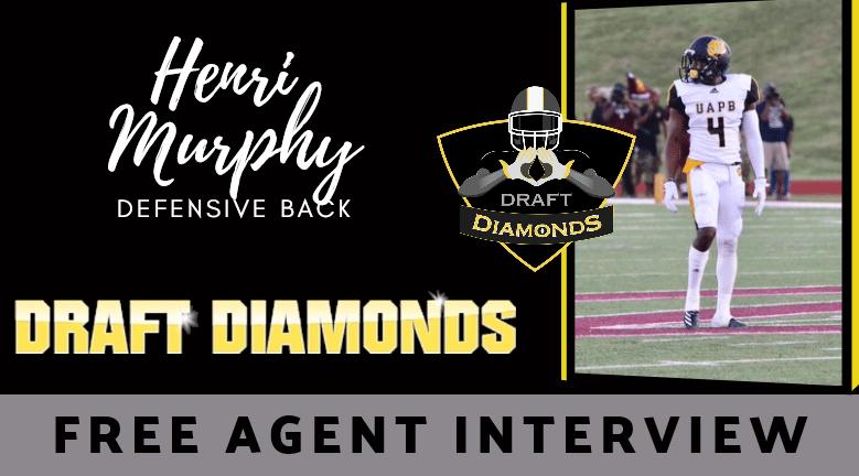 Henri Murphy Defensive Back Free Agent Interview