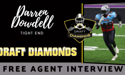 Darren Dowdell, Tight End Free Agent Tight End