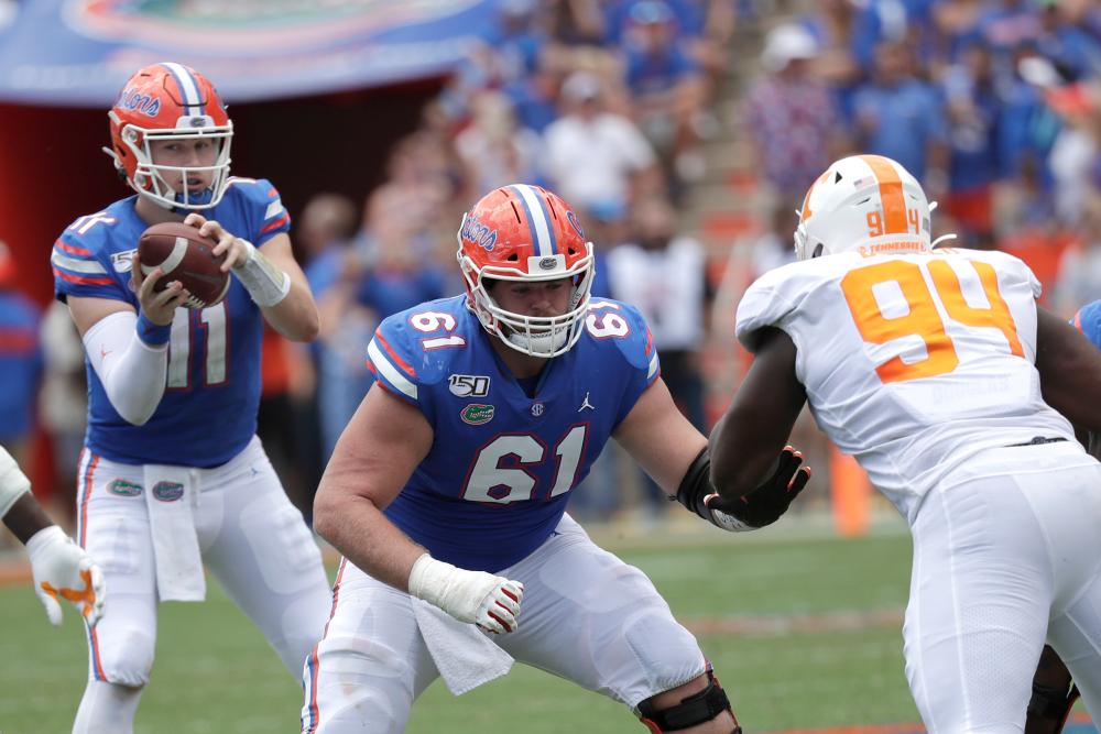 Brett Heggie University of Florida NFL Draft Interview
