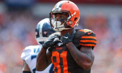 Rashard Higgins Browns reuniter re-sign NFL Draft Browns