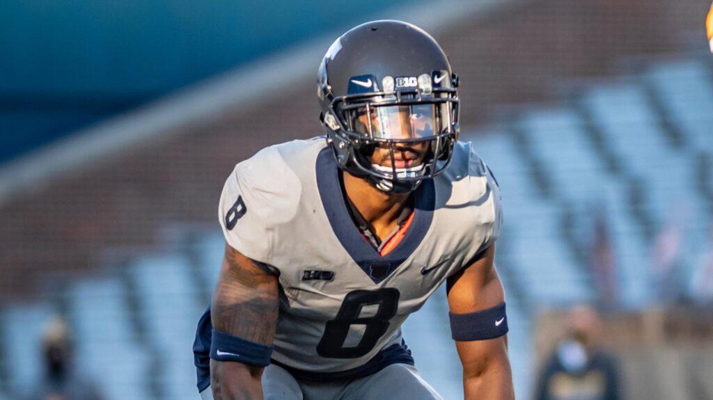 Nate Hobbs Illinois NFL Draft 2021