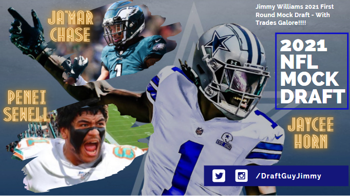 Mock Draft with Trades Galore DraftGuy Jimmy