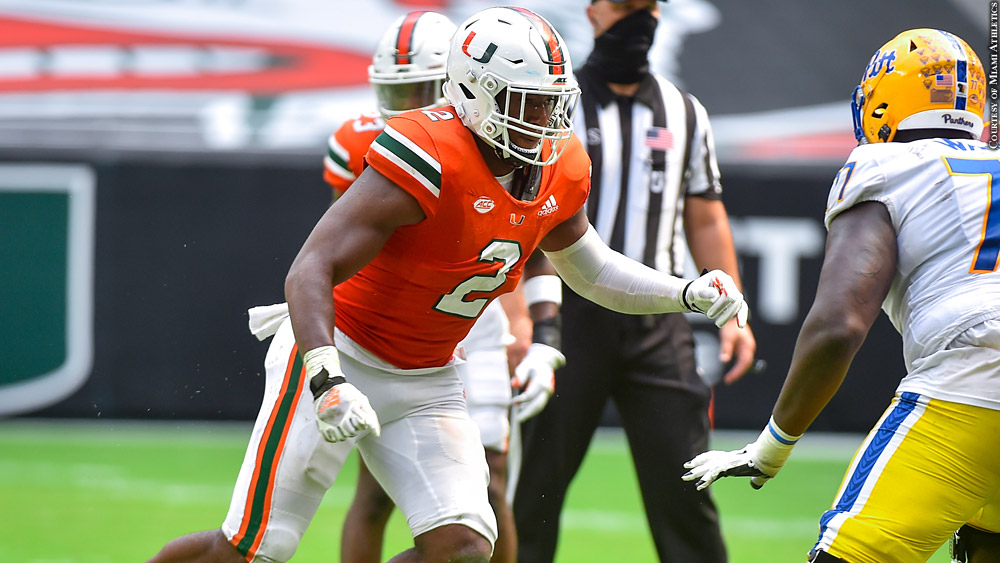 Quincy Roche Miami NFL Draft Prospect Interview