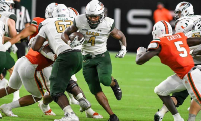 Spencer Brown UAB RB 2021 NFL Draft