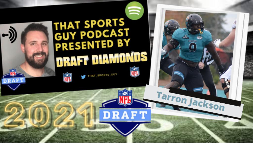 Tarron Jackson Coastal Carolina NFL Draft That Sports Guy