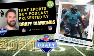 Tarron Jackson Coastal Carolina NFL Draft That Sports Guy