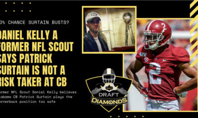 Patrick Surtain Alabama NFL Draft Scouting Report