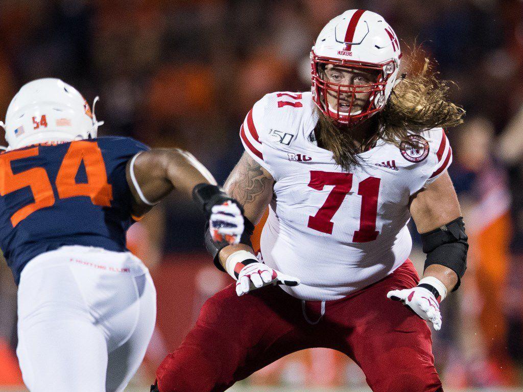 Matt Farniok Nebraska NFL Draft 2021