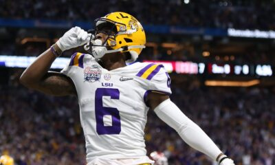 Terrace Marshall LSU Fantasy Doctors NFL Draft