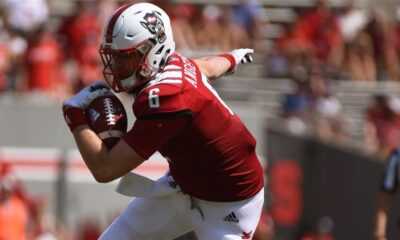 Cary Angeline North Carolina state tight end prospect interview
