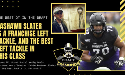 Rashawn Slater Northwestern NFL Draft 2021