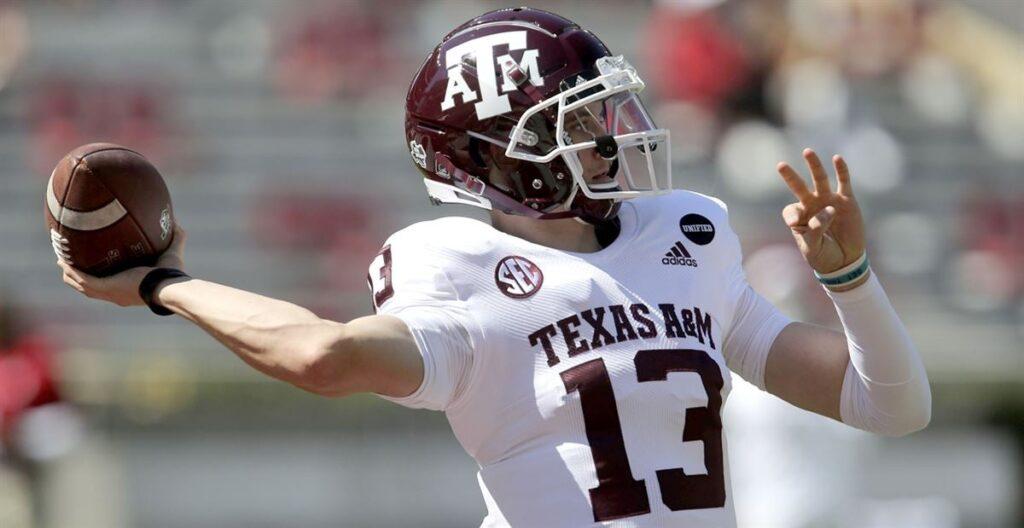 Haynes King Texas A&M NFL Draft
