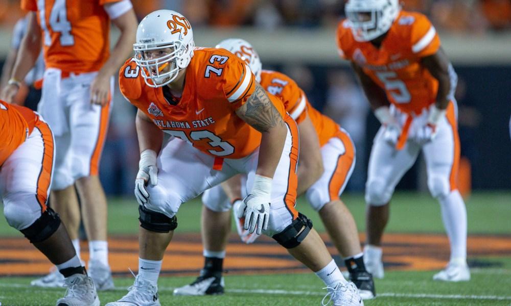 Teven Jenkins NFL Draft Oklahoma State Draft