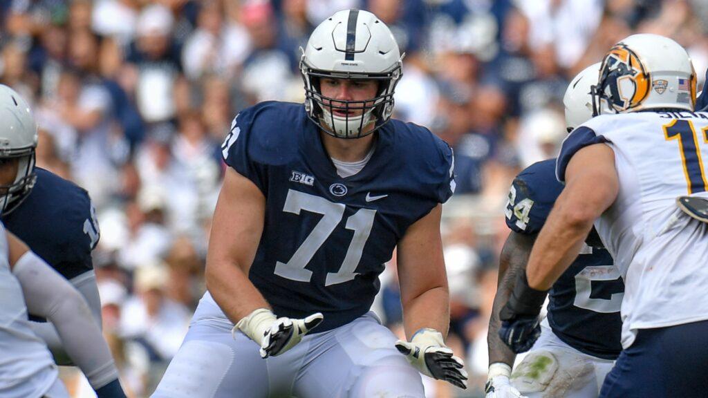Will Fries Penn State 2021 NFL Draft Prospect