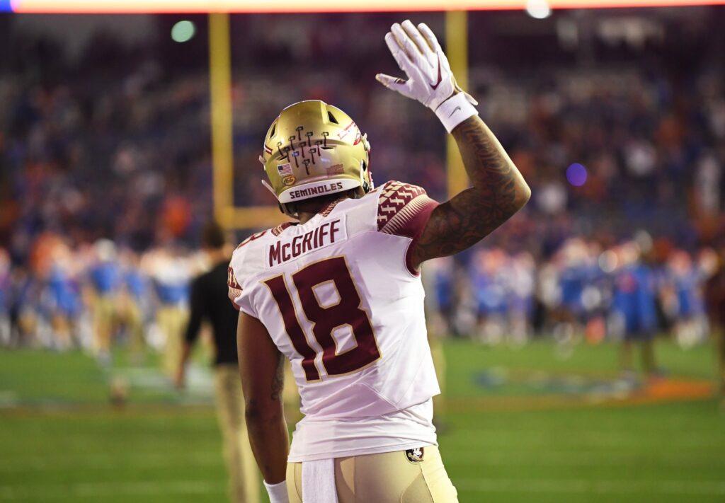 D'Anfernee McGriff FAU FSU NFL Draft Running Back