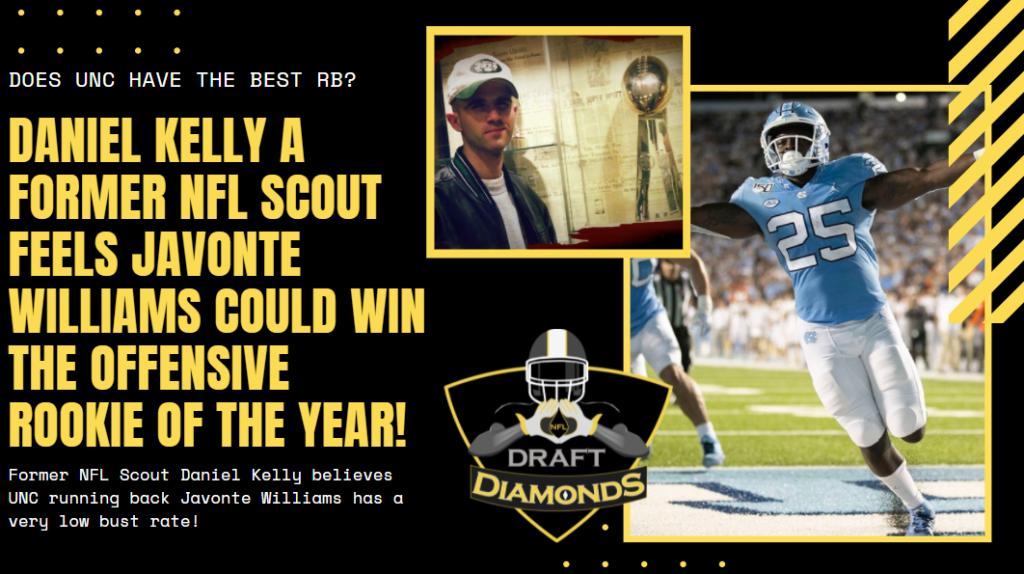 UNC RB Javonte Williams NFL Draft 2021