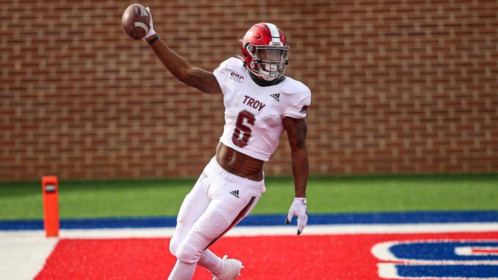 Khalil McClain WR Troy University Interview NFL Draft